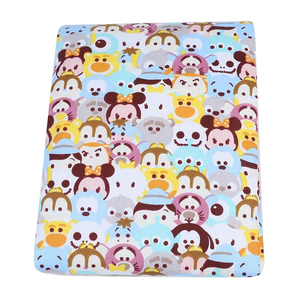 Portable Travel Changing Mat Waterproof Breathable Baby Thicken Cotton Urine Pad Infant Diaper Changing Pad for Boys Girls Newborn (Animals)