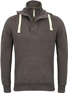 Tokyo Laundry Mens Sweatshirt Hoodie Top Double Layer Half Zip Lined Jogging New