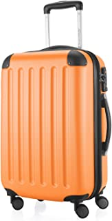 "Hauptstadtkoffer Spree - Carry on Luggage Suitcase Hardside Spinner Trolley Expandable 20"" TSA, Orange, 55 Centimeters"