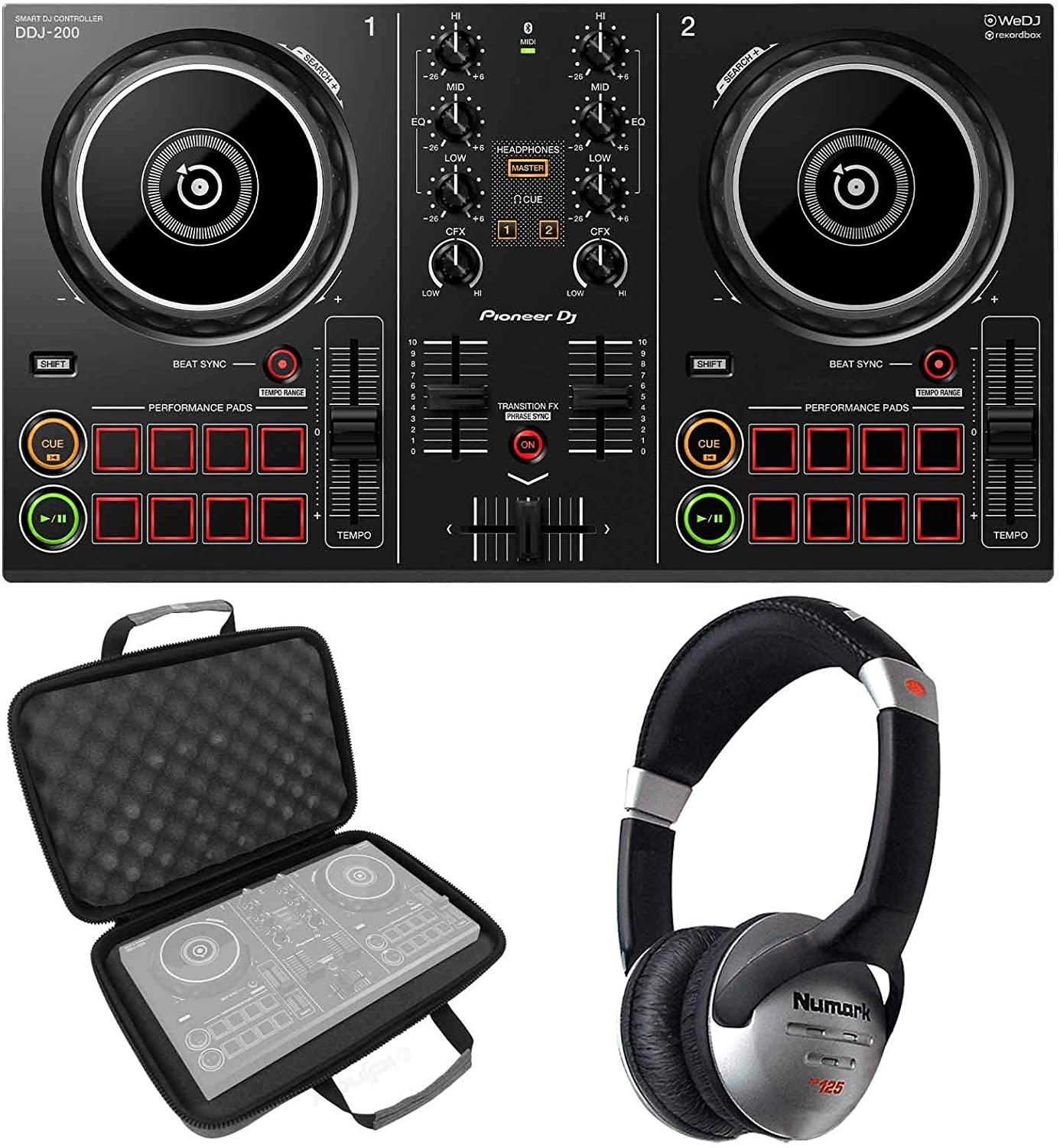 Pioneer DDJ-200 Portable Smartphone Tablet Controller Mac Inventory cleanup selling sale PC New Shipping Free Shipping DJ