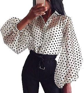 Amazon.es: Camisa Mujer Blanca - Con botones / Blusas y ...