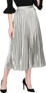 8cb27cd658de Suchergebnis auf Amazon.de für: plissee rock - Silber / Röcke ...