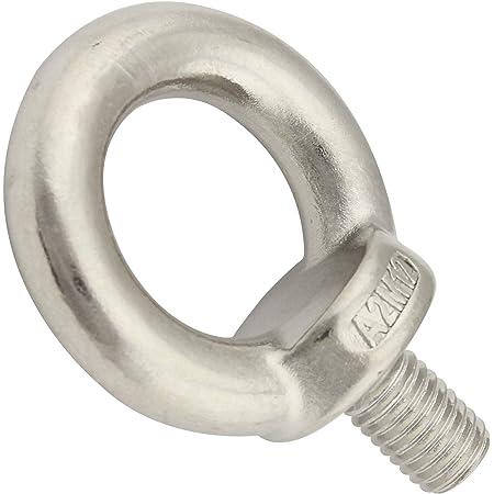 DIN 580 Edelstahl A2 1 St/ück Ringschraube M12 gegossen u poliert /ähnl