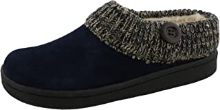 Angelina Women's Knitted Collar Clog Slipper