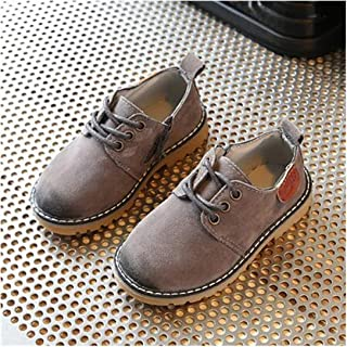 tomik Children Leather Shoes Boys Girls Leather England Retro Baby Shoes Toddler Dress Shoes Kids Flats