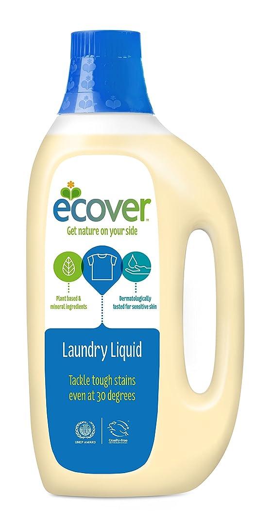 上院逆に配列ECOVER(エコベール) ランドリーリキッド(洗たく用液体洗剤) 1500ml