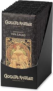 Chocolate Amatller Chocolate 70% Cacao - 100 Unidades