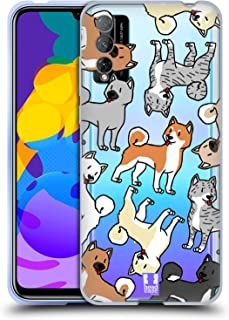 Head Case Designs Akita Razze di Cani 2 Cover in Morbido Gel