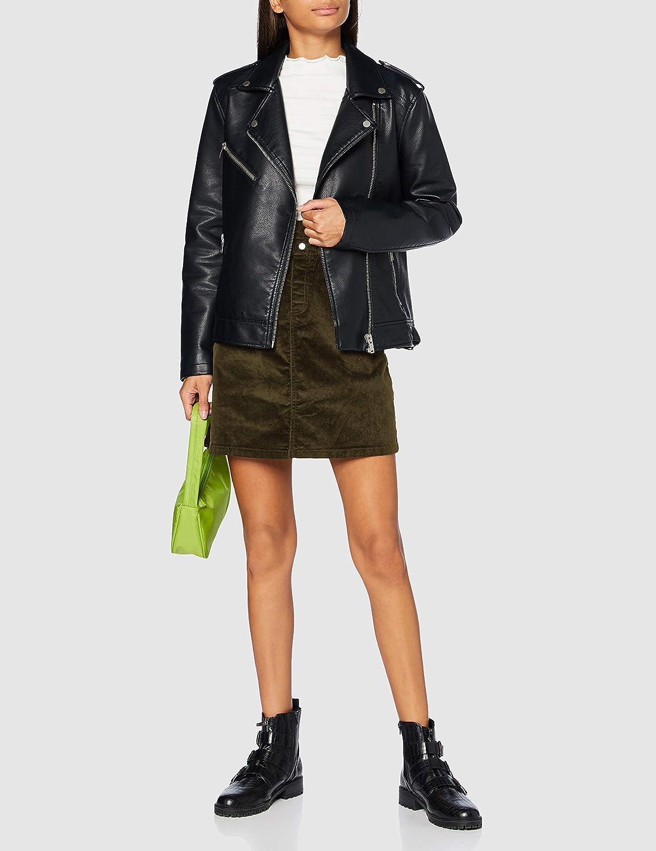 Noisy may Damen Nmjudo Hw Paperbag Corduroy Skirt Noos Rock