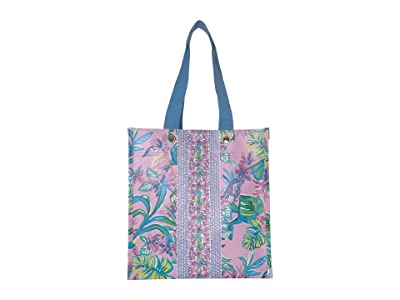 Lilly Pulitzer Market Shopper (Mermaid in the Shade) Tote Handbags