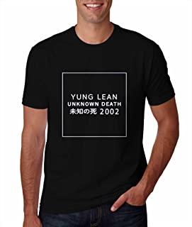 yung lean unknown death 2002 shirt