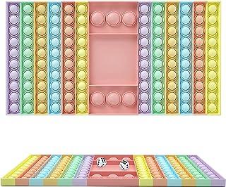 Big Size Pop It Game Fidget Toy Push toys Chess Board Push Bubble Popper Fidget Sensory Toys for Parent-Child Time Easy-t...