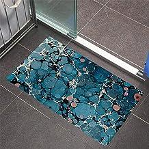 ESUPPORT Marble Texture Welcome Doormat 23.6 x 15.7 Non Slip Rubber Floor Mats Rug Outdoor/Indoor/Front Entrance, Style C