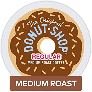 The Original Donut Shop Regular Keurig Single-Serve K-Cup Pods, Medium Roast Coffee, 32 Count