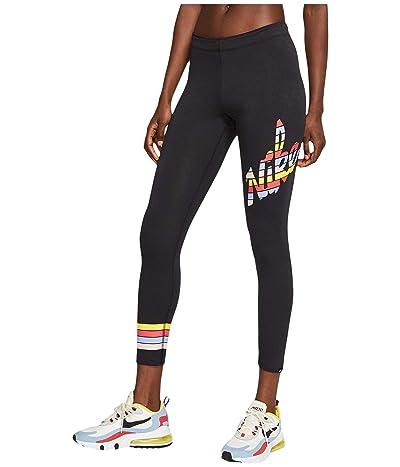 Nike NSW Print Leggings 7/8 (Black) Women