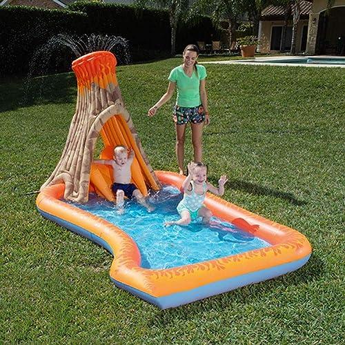 Felices compras Play pool Piscina Piscina Piscina de Remo de Modelado de volcanes, Piscina Inflable para Niños, Apta para Niños Mayores de 3 años  genuina alta calidad