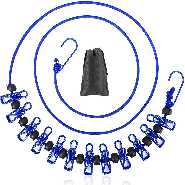Clothesline Portable Retractable Adjustable Non Woven