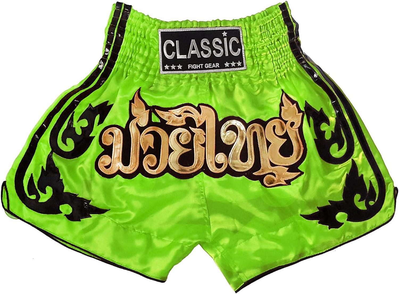 Classic Classic Classic Muay Thai Kick Boxen Hosen Shorts   CLS-016-Lemon Größe M B00ZZ56R1G  Verpackungsvielfalt f2da51