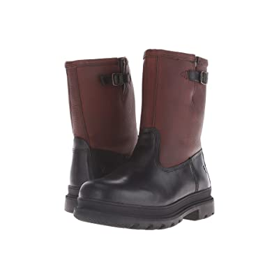 Frye Riley Pull On (Black Multi WP Smooth Pull Up) Men