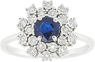 Craft Craft Floral Sapphire - Plate Ring 7US