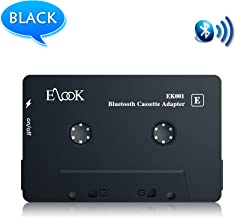 Car Audio Receiver, Bluetooth Cassette Receiver Tape Aux Adapter Player with Bluetooth 5.0