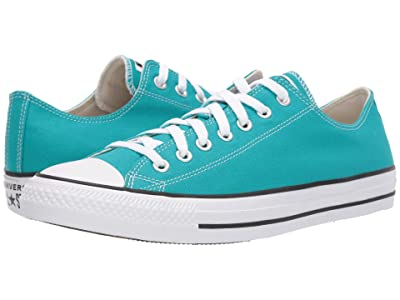 Converse Chuck Taylor All Star Seasonal Ox (Turbo Green) Athletic Shoes