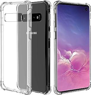 Migeec Funda para Samsung Galaxy S10 Plus Suave TPU Gel Carcasa Anti-Choques Anti-Arañazos Protección a Bordes y Cámara Pr...