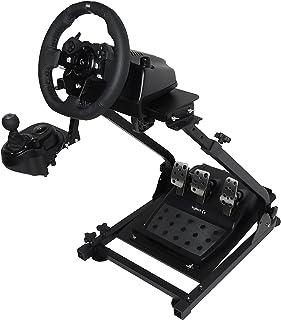 Autovictoria Soporte de Volante de Carrera para Logitech G25 G27 G29 y G920 Soporte Plegable de Volante no Incluye Volante Pedales y Palanca de Cambio (G920)