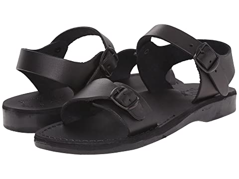 Jerusalem The Sandals Original Black Womens EDH2IW9