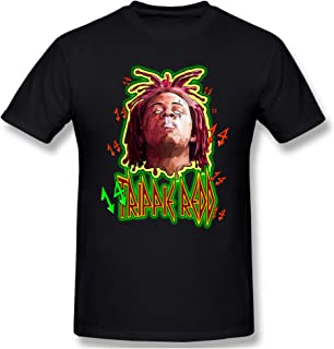 Sponsored Ad - Trippie Redd Tshirt for Men Rapper Unique Casual Short Sleeve Top Black