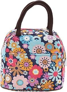 EZ Life Cute Carry Bag - Pastel Flowers - Multicolor
