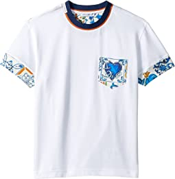 Mixed Print T-Shirt (Toddler/Little Kids)