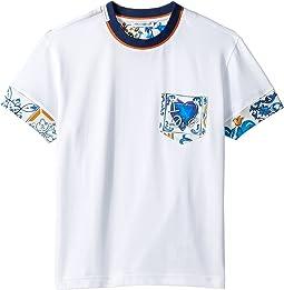 Mixed Print T-Shirt (Toddler/Little Kids)