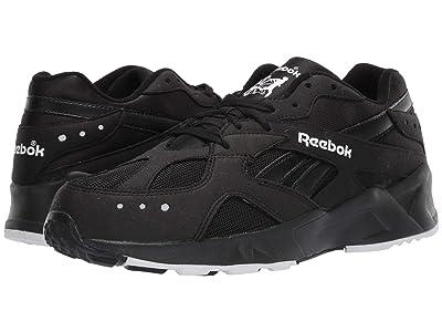 Reebok Lifestyle Aztrek 93 (Black/White/Reflective) Athletic Shoes