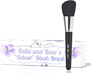 Bella And Bear Blush Brush - Angled For Highlighting - Bronzing - Scultping & Contouring - Vegan