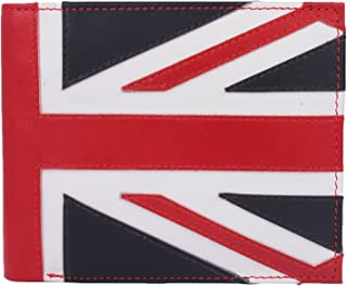 K London Exclusive Union Jack Men's Wallet (Red,White & Blue) (651_RED)