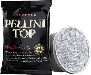 Pellini Caffè, Espresso Pellini Top 100% Arábica Compatible con Máquina Lavazza Espresso Point (FAP) - Paquete de 100 Cápsulas (700 gr)