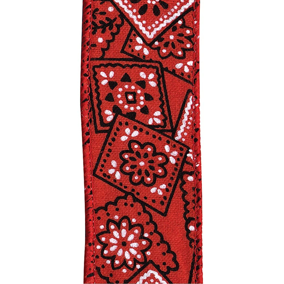 Offray Wired Edge Cowboy Craft Ribbon, 1-1/2-Inch by 25-Yard Spool, Red