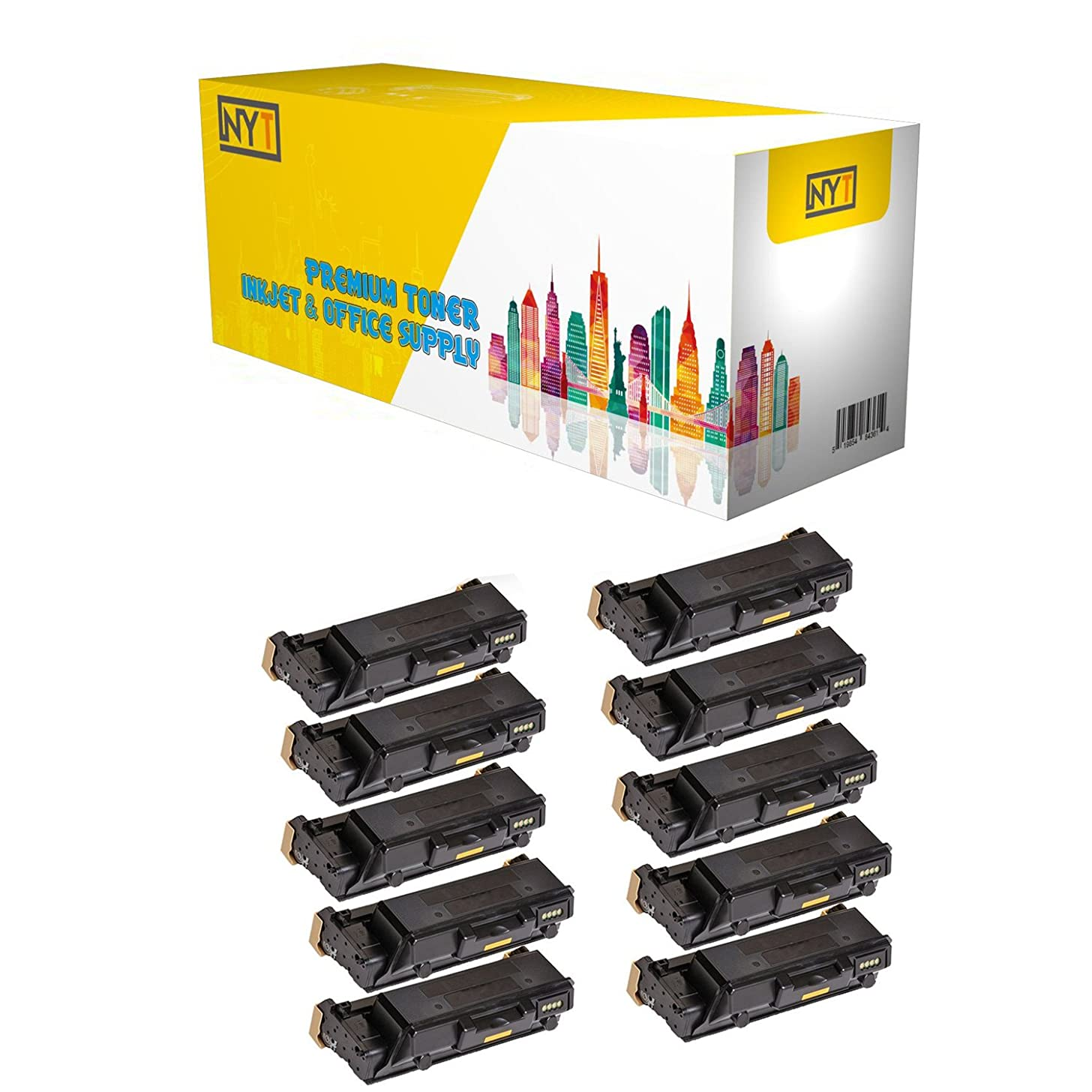 New York TonerTM New Compatible 10 Pack 106R03624 High Yield Toner for Xerox - Phaser 3330 WorkCentre 3335 3345 . -- Black