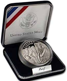 2007 P Commemorative Jamestown 90% Proof Silver Dollar in OGP
