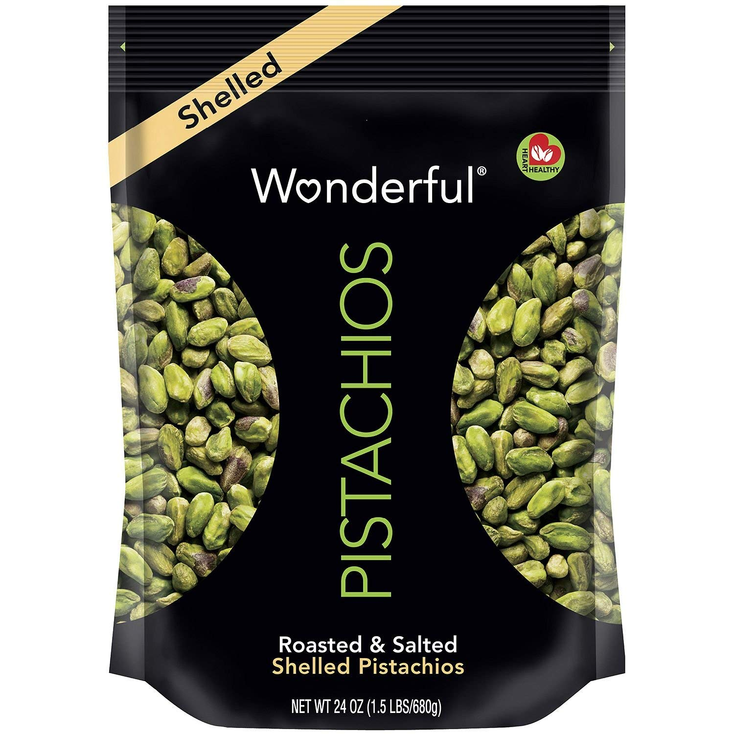 Wonderful Shelled All items in the store Pistachios 100% quality warranty! oz. 24