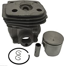 MothAr Cylinder Piston Kit for Husqvarna 357 357XP 359 Jonsered 2156 2159#537 15 73-02(47mm)