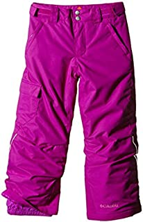 Columbia Sportswear Girls Bugaboo Pant, Black Print, Small