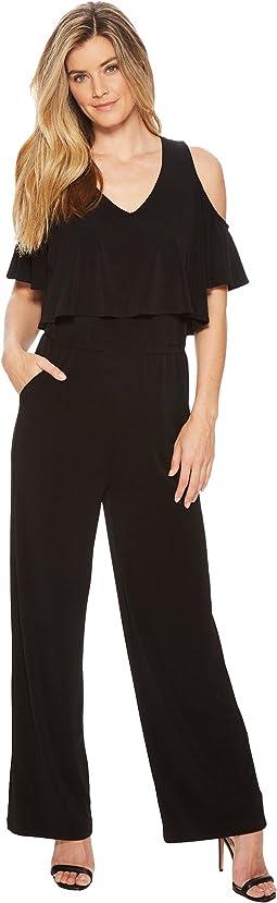 Karen Kane Cold Shoulder Jumpsuit