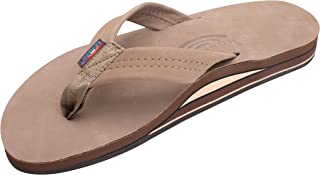 Rainbow 301 Premier Men's Leather Sandal - Forest Brown