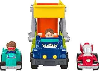 Fisher-Price Little People Ramp 'n Go Carrier Gift Set