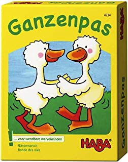Haba Geese Card Game Toy, Multi-Colour
