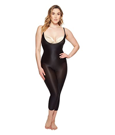 Spanx Suit Your Fancy Open-Bust Catsuit (Very Black) Women