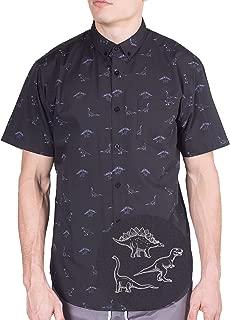 Original Printed Short Sleeve Button Down Shirt Size Small - 4XL Big Mens