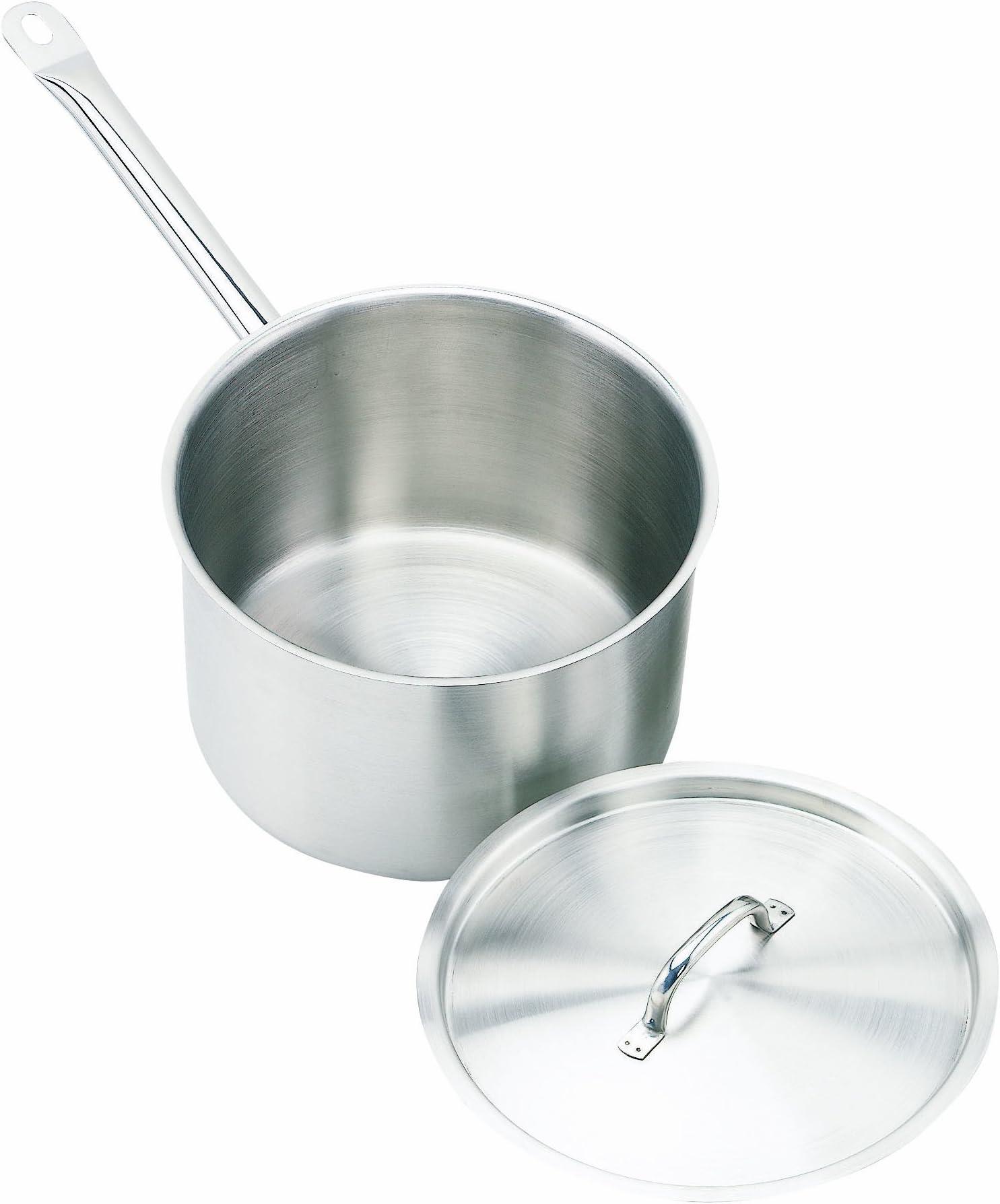 Crestware 5-Quart Stainless Steel Sauce Pan